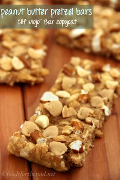 A much lighter version of Clif Mojo™ bars! Sweet and salty, protein-packed, and LOTS of peanut butter taste!