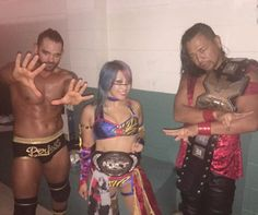 Tye Dillinger, Asuka and Nakamura