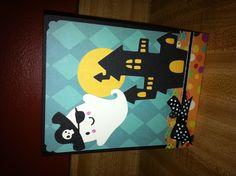 Create a critter 2 cricut cartridge Halloween card