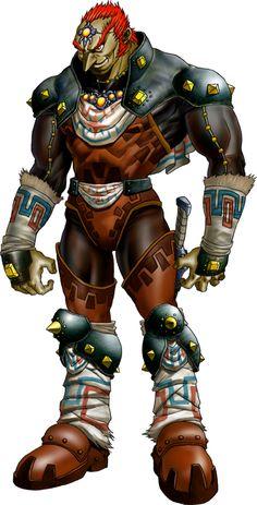 Ganondorf,the king of evil (ocarina of time)