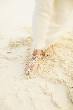 gorgeous barefoot sandals. I love these. These will be perfect with my wedding dress on the beach this spring!