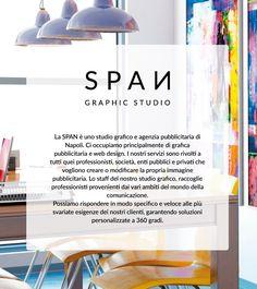 SPAN - Graphic Studio Span - Graphic Studio  is a template designed and developed especially for graphic agency. Artwork di Sergio Panariello.  Area: Web Design Categoria: Sito Vetrina