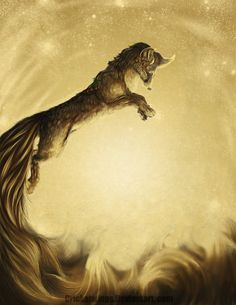 Celestial Pounce by `CricketWings on deviantART