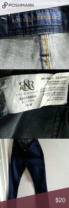 Jeans Used good condition Rock & Republic Jeans Boot Cut