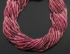 Natural NO TREATMENT Genuine Rubellite AAA Quality by Beadspoint, $21.99