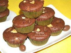 Muffins cu nesquik si ciocolata o dulce si delicioasa rasplata Oreo Brownies, Brownie Cake, Nutella, Romanian Food, Loaf Cake, No Cook Desserts, Oreo Cheesecake, Muffins, Cooking