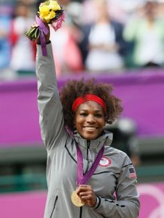 Olympic Gold Medalist Serena Williams. Click to see her gear!!