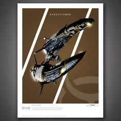 Fast & Furious Frigates From EVE Online Four more iconic spaceships from the massive, living science-fiction universe of EVE Online are now available in our series of original art print posters. These