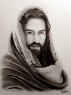 Jesus Christ (Existence) by RichmonDeLeon on DeviantArt Jesus Christ Drawing, Jesus Drawings, Jesus Art, Jesus Our Savior, Jesus Lives, Jesus Is Lord, Christus Tattoo, Jesus Photo, Pictures Of Jesus Christ