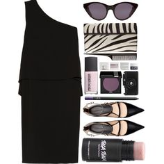 Purple Issue by miss-magali-mnms on Polyvore featuring Maison Margiela, Zara, Alaïa, Opening Ceremony, MAKE UP FOR EVER, NARS Cosmetics, Korres and Rococo