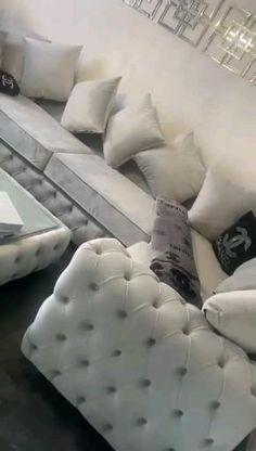 Modern Bedroom Furniture, Design Furniture, Home Decor Furniture, Sofa Furniture, Luxury Furniture, Decor Home Living Room, Living Room Sofa Design, Corner Sofa Living Room, Diy Ikea Hacks