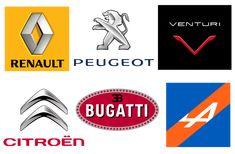 French Car Logos