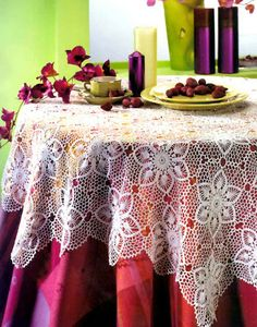 Hexagonal floral motif, crocheted - the inspiration of the needlewoman Filet Crochet, Crochet Motif, Crochet Shawl, Crochet Doilies, Hand Crochet, Crochet Lace, Crochet Patterns, Floral Tablecloth, Crochet Tablecloth