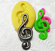 Music Note Mold Flexible Silicone Rubber Push Mold for Resin Wax FIMO Fondant Royal Icing Chocolate Polymer Clay Metal Clay by MementoMolds on Etsy https://www.etsy.com/listing/199180637/music-note-mold-flexible-silicone-rubber