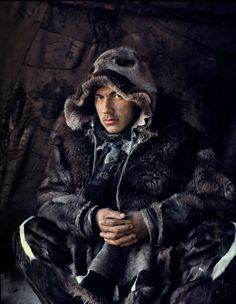 Chukchi tribe live on a peninsula in Siberia