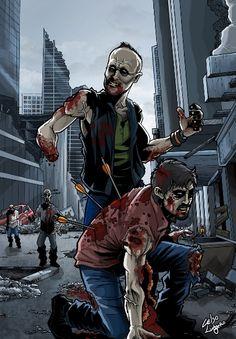 Zumbificações do Elenco de The Walking Dead  Zumbificações pessoais