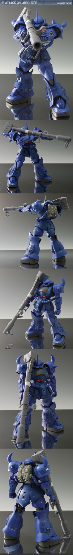 Amazing Remodeling Work! 1/144 GOUF R35 + DODAI YS. Work by STYLE-S Full Photoreview Hi Res Images   GUNJAP