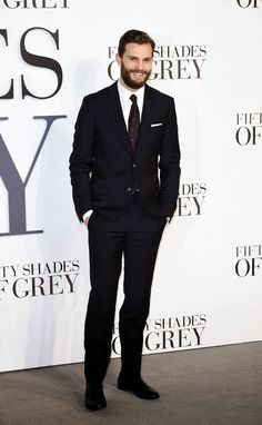 Fifty Shades Updates: HQ PHOTOS: Jamie Dornan at the Fifty Shades of Grey UK Premiere