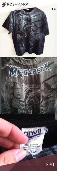 vintage rock and heavy metal tees