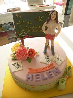 B'day cake for your math teacher :)