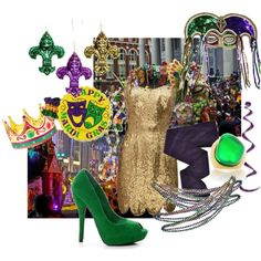 Happy Mardi Gras! Outfit (What to wear - Mardi Gras)