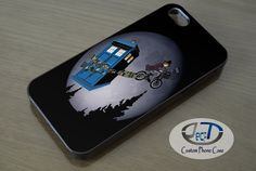 Doctor Who Fly With Bicycle Case iPhone, iPad, Samsung Galaxy & HTC One Cases