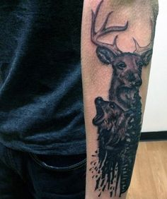 Waterfowl Hunting Tattoos For Men