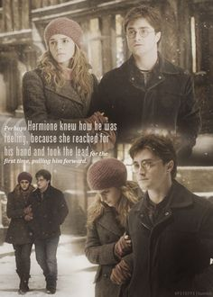 I seriously think they should have ended up together. I think Hermione only truly understood Harry and He also was sweet to Hermione and respected her.