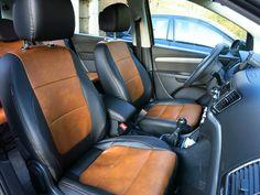 VW  Sharan Autositzbezüge nach Maß gefertigt. Die Sitzbezüge wurden über den Originalbezug der Sitze montiert. Alle Funktionen bleiben nach der Montage weiterhin erhalten. Hier wurde die Lederlook gesamt Variante ausgewählt. #Sitzbezüge #VW #Sharan #Tuning #Autositze