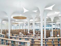 Universitaetsbibliothek Taipeh von Toyo Ito