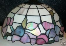 New Tiffany Style Stained Glass Lamp Shade Floral