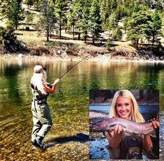 5 Useful Tips On Trout Fishing – Fishing Genius Fly Fishing Girls, Fly Fishing Line, Fishing 101, Fishing World, Fly Fishing Gear, Gone Fishing, Fly Girls, Sport Fishing, Fishing Tackle