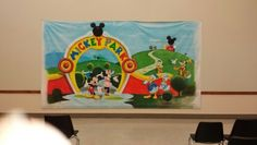 Mickey mouse mural