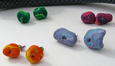 Rock Climbing Hand Hold Earrings by ClimbingChic on Etsy, $10.00