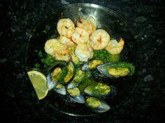 Shrimp/mussel