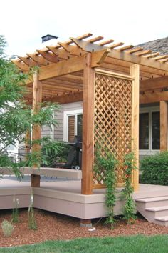 The pergola you choose will probably set the tone for your outdoor living space, so you will want to choose a pergola that matches your personal style as closely as possible. The style and design of your PerGola are based on personal Diy Pergola, Building A Pergola, Pergola Canopy, Metal Pergola, Deck With Pergola, Outdoor Pergola, Pergola Shade, Pergola Kits, Pergola Lighting