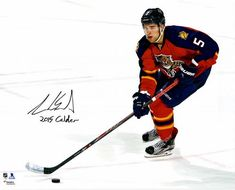 Vincent Trocheck Florida Panthers Autographed 16 x 20 Red Jersey Shooting Photograph Fanatics Authentic Certified