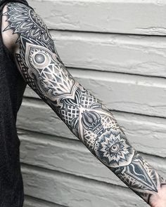 "a9292833db0b1 Aries Rhysing on Instagram: ""Belief creates reality Healed sleeve for  Brandon! @reign_cloud"