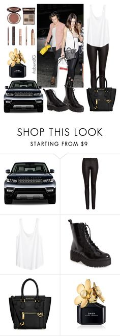 """""""Kendall & Harry last nite!♡"""" by jihanagna ❤ liked on Polyvore featuring FiveUnits, H&M, Jeffrey Campbell, MICHAEL Michael Kors, Marc Jacobs and Charlotte Tilbury"""