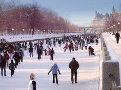 Rideau Canal, Ottawa in Winter Winter Images, Winter Pictures, Ottawa Winterlude, Ottawa Ontario, Ottawa Canada, Canadian Travel, Winter Scenery, New York, Ice Skating