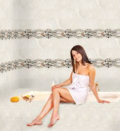 ODH Arona Pebbles Ivory HL - #Tiles For #Bathroom