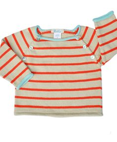 My favorite baby sweater ever! Or wait...maybe I just really want to wear it. Either way, I love this!