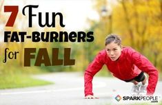 7 Fun Fat-Burners for #Fall! Great #exercise ideas to do alone or with a friend. | via SparkPeople #fitness