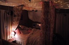 cozy bedroom, like a permanent fort