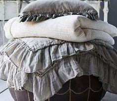 Beautiful gray linen.