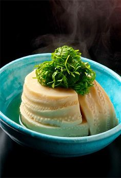 Boiled bamboo shoot simmered in dashi stock