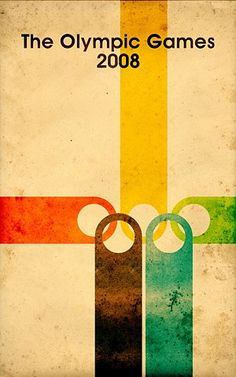 How did I never see this design before? Infinitely tastier than the usual Olympics visual dreck.
