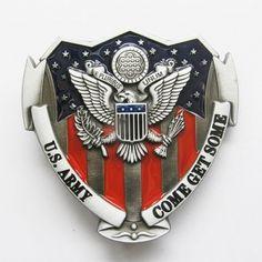 Beltespenne - US Army Military85 mm lengde, 81 mm høyde, 103g vekt. Finn et stilig belte som passer til beltespennen her.Norges største utvalg av beltespenner!
