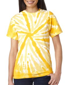 Pinwheel Tee - Buy wholesale tie-dyes adult one-color pinwheel tee at Gotapparel.com.