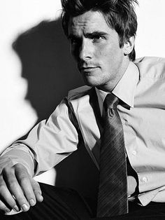 christian bale My choice for Christian Grey even though he is too old. ;)
